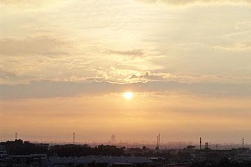 梅雨明けの太陽 ♪