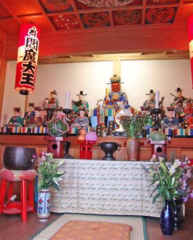 板鼻・聞名寺の「えんま大王祭」 ♪
