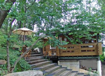 木蔭のカフェ ♪