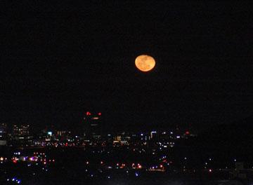 昨夜の月 ♪