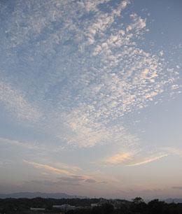 夕暮れ☆雲 ♪