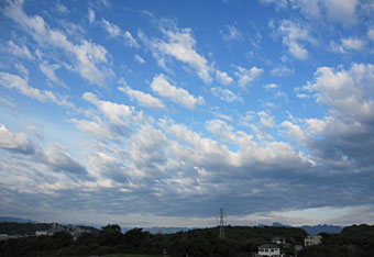 雲のかけら・・♪