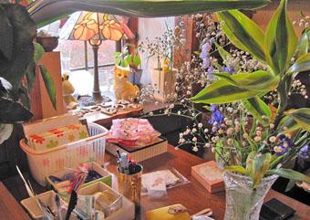 中宿の喫茶店 「めりっとはうす」 ♪