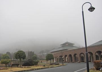 霧の中の温泉 ♪