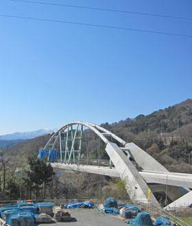 八ッ場ダムの橋 ♪