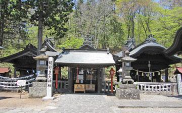 碓氷峠の熊野神社 ♪