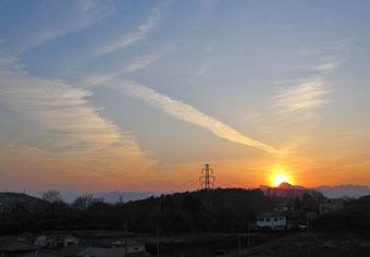 夕暮れの雲♪