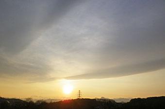 ベールのような雲 ♪
