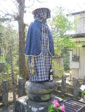 大戸宿の風景/忠治地蔵♪