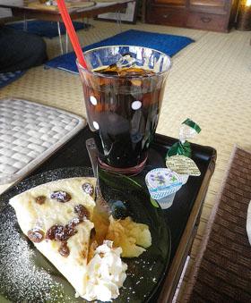 坂本宿のマロンカフェ ♪