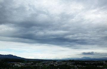雲が多い午後 でした ♪