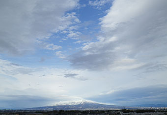 雨上がりの雲 ♪