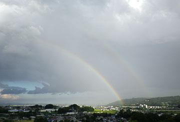 虹♪ ひさしぶり・・・