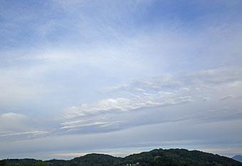 今朝の雲 10/17 ♪