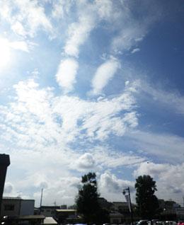 きょうの雲 10/23 ♪