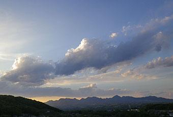 立夏の雲 ♪