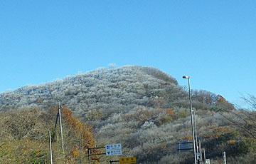 浅間山の冠雪 ♪
