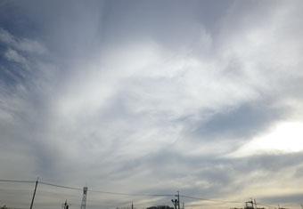 今日の雲 ♪