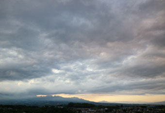 夕方の雲 ♪