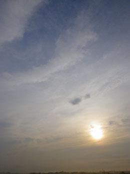 今朝の雲と霧 ♪