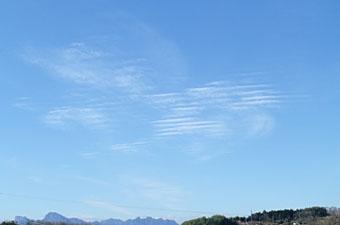 昼の雲 ♪