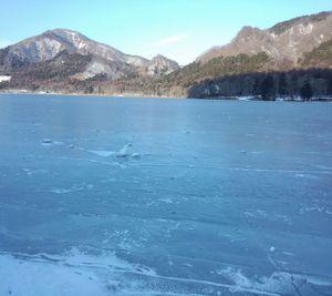 ゆうすげから見た本日の「榛名湖」