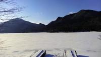 1月29日榛名湖の状況