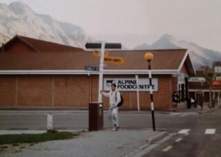 25年前のNZ クイーンズタウン
