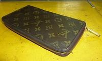 ヴィトンの財布のファスナー修理