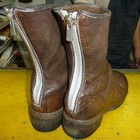 ブーツのファスナー修理