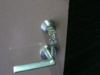 マンションの集中ドアロック交換