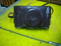 ライカのカメラケースの修理
