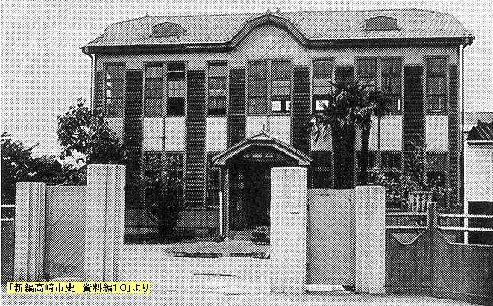 史跡看板散歩-6 旧群馬県工芸所の塀