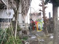 史跡看板散歩-28 九蔵稲荷