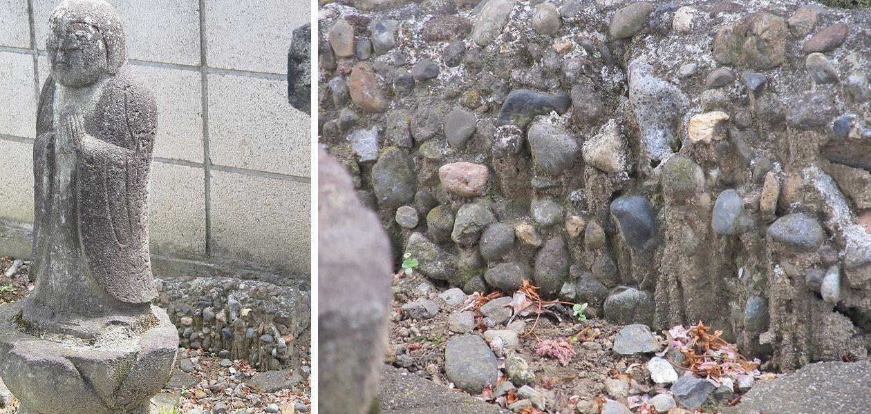 史跡看板散歩-46 下正六の石橋供養塔と観音様