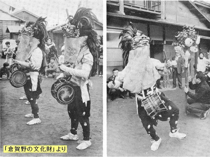 史跡看板散歩-51 田子屋の獅子