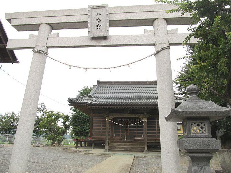 史跡看板散歩-59 井戸八幡宮