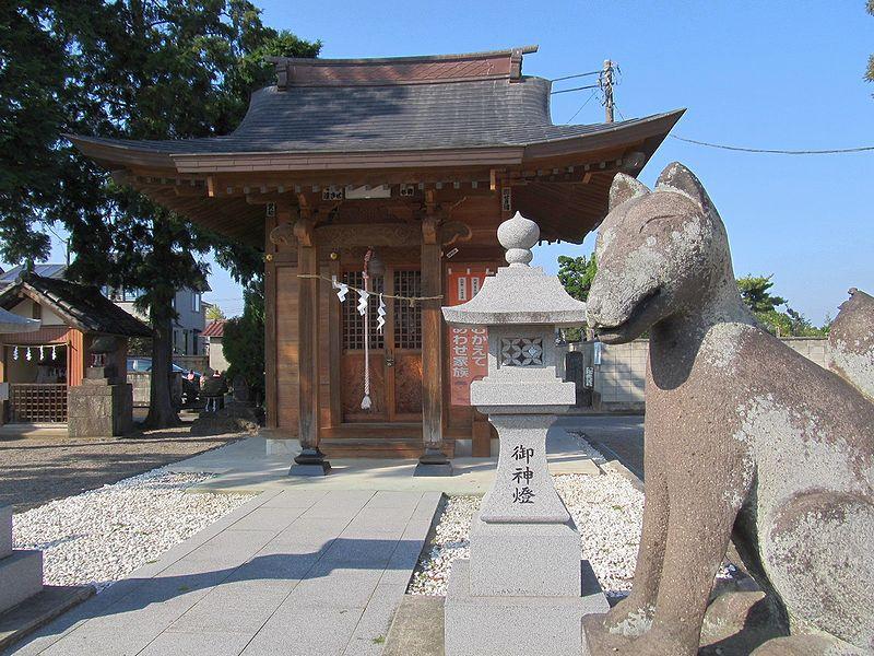 史跡看板散歩-67 台新田町稲荷神社