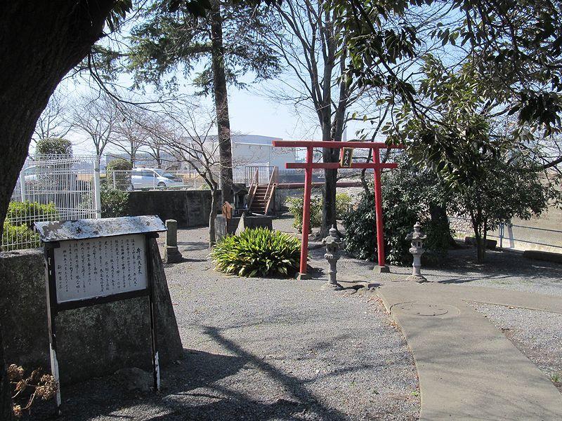 史跡看板散歩-86 弁天島の芭蕉句碑