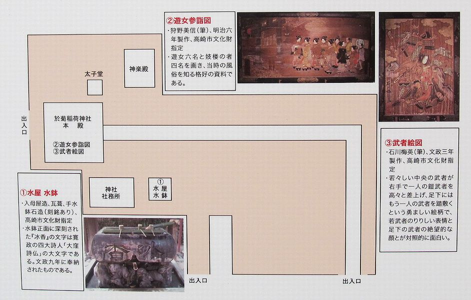 史跡看板散歩-90 於菊稲荷神社