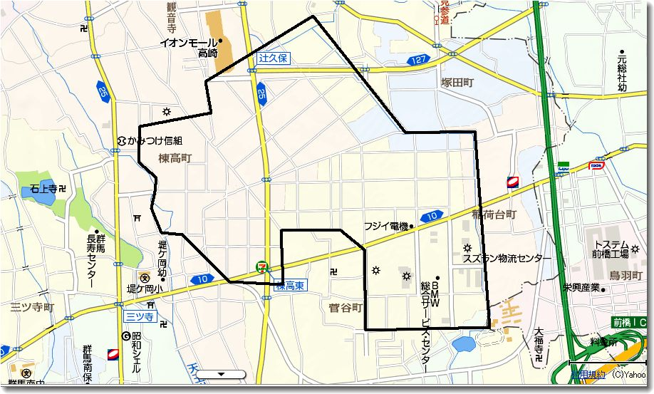 三国街道 帰り道(9)