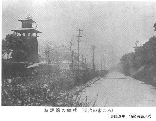 高崎にもあった「時の鐘」