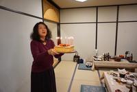 陶芸塾の忘年会兼私の誕生祝い