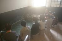 足湯とヨガの会を開催しました。