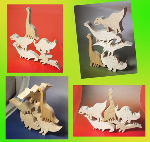 恐竜の積木