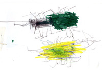 緑のカブトムシ 2015/07/01 13:05:54