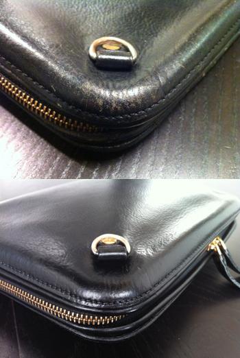 ハンドバッグの補修