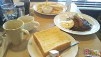 ガストモーニング、ガストで朝食を。