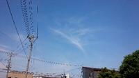 気になる雲~高崎市井野駅周辺。