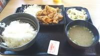 吉野家 ニュー豚生姜焼き定食。